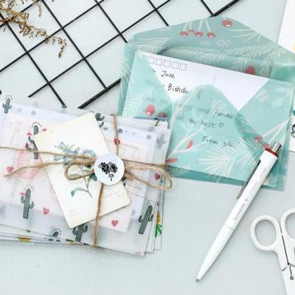 Translucent Envelopes Set - 3pc | T..