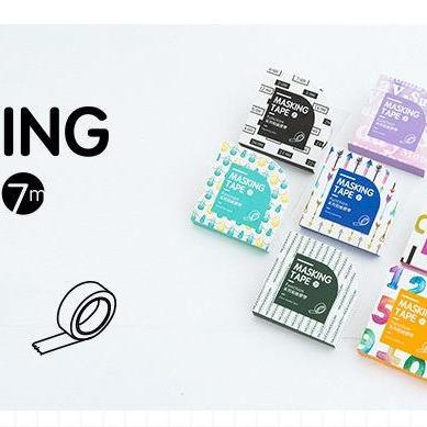 Line & Border Washi Tape Collection..