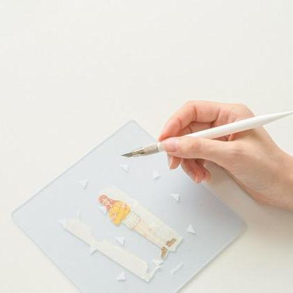 Pure White Paper Cutting Pen Knife ..