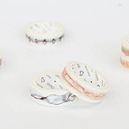Vintage Coffee Stain Washi Tape | V..