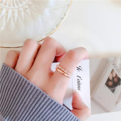 Cute Stackable Ring | Korean Style ..